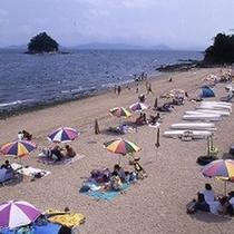 三河大島海水浴
