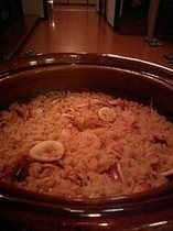 ヤリイカの炊込みご飯