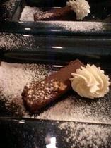 手作りチョコレートのテリーヌ