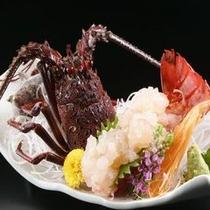 別注料理/伊勢海老のお刺身
