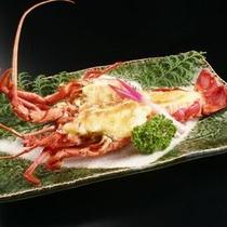 別注料理/伊勢海老の黄身焼き