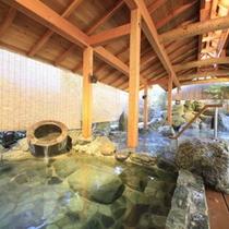 松ぼっくりの湯「低温泉風呂」