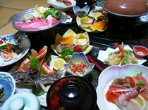 花渕荘/お料理(夕食一例)