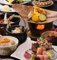 季替り新磯懐石料理~出来立ての美味しさをお召し上がりくださいませ~