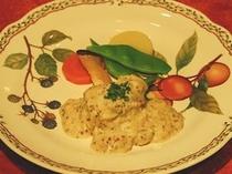 フレンチコース・メイン料理一例