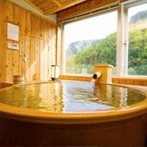 (春夏)信楽焼の展望風呂