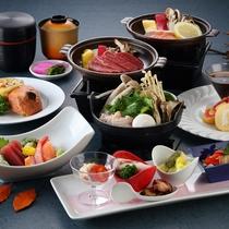 【2016秋・山荘】メインは牛肉、または秋鮭の陶板焼き特製味噌