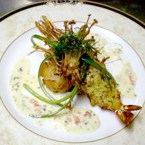 *【夕食一例】魚料理2