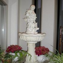 *館内の噴水。