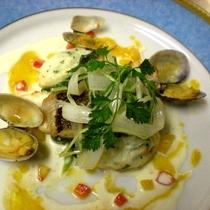 *【夕食一例】魚料理