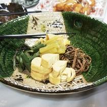 *【夕食一例⑩】温かみのある手作り家庭料理をどうぞ♪