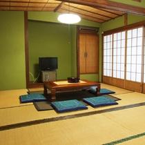*【和室一例(14畳)①】グループ等でのご利用は、こちらの部屋でどうぞ♪