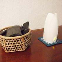 *【脱衣所②】消臭対策など、清潔感を保つ工夫も行っています。