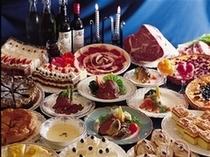 お肉食べ放題お食事コース一例