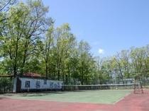 姉妹館テニスコート