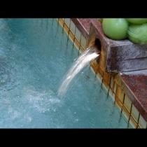 湯量豊富な下田温泉!