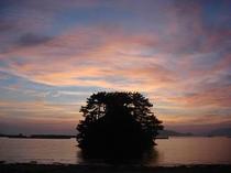 小夜島 日の出