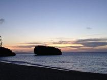 ☆赤墓ビーチのサンセット☆