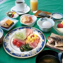 朝食【和洋バイキング】