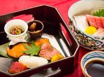 ■和食 会席一例 ※季節によってお食事内容が変更いたします。