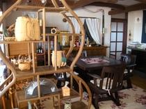 食堂の一角