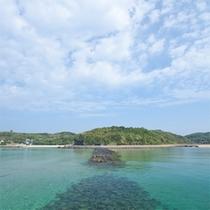 ■ツインズビーチ■小水浜と塩樽の二つの海水浴場が隣り合う
