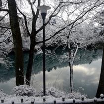 *冬の鬼怒川
