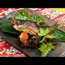 ◆【ご夕食一例・単品】岩魚塩焼