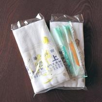 タオル&歯ブラシはお部屋にご用意しております