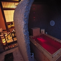 ■洞窟露天風呂