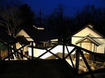 西山荘夜景