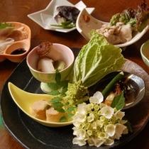 ■季節の和食一例