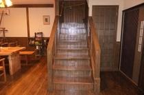 レトロな階段