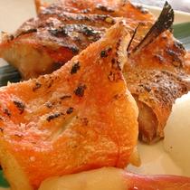 金目鯛の塩焼き 2,000~2,500円位