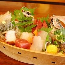 お刺身膳(あわび、さざえ付き) 3,030円