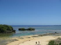 星砂ビーチ