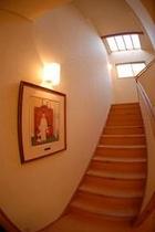 ノーマンロックウェルの絵が飾られる館内