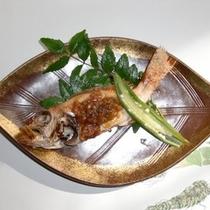 ノドグロ(ねぎ味噌焼き)