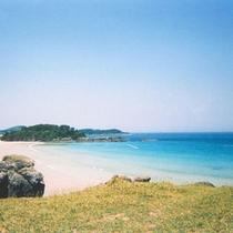 壱岐で最も美しいといわれる石田町の海水浴場!
