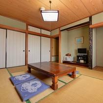 *和室8畳(客室一例)/ファミリーやグループでのご宿泊におすすめ!ごゆっくりお寛ぎ下さい。