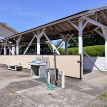 *駐車スペース完備。ご宿泊のお客様は無料でご利用いただけます。
