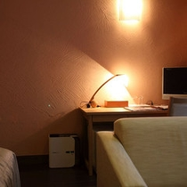 木材を使用した落ち着きのあるお部屋