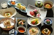2月の懐石料理一例