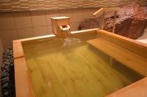 ☆2016年2月オープン☆新設貸切風呂『椿の湯』。檜のお風呂は優しく疲れを癒します。