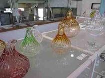 ガラス作品「玉ねぎ」