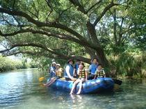 クリアボートで水上散歩