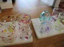 ガラス体験で出きる作品