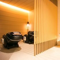 男性大浴場 リラクゼーションルーム