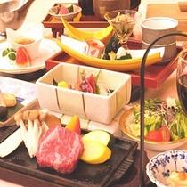 *とちぎ和牛ステーキ御膳(一例)