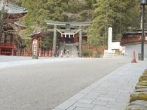 西参道(二荒山神社入口)